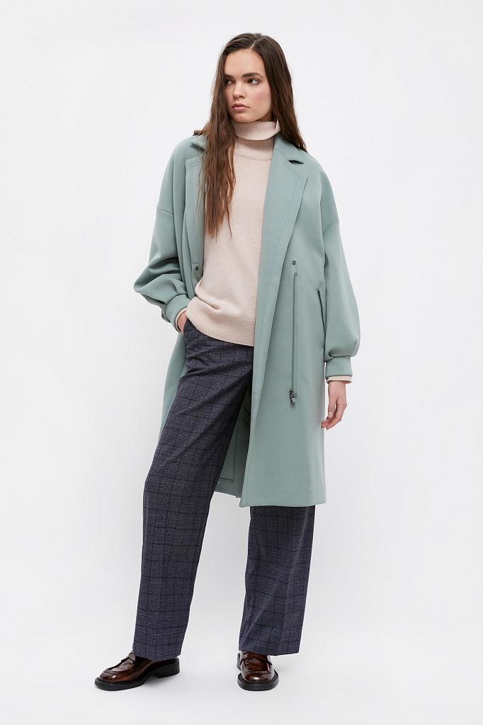Пальто женское Finn Flare, цвет серо-зеленый, размер 2XL - фото 2