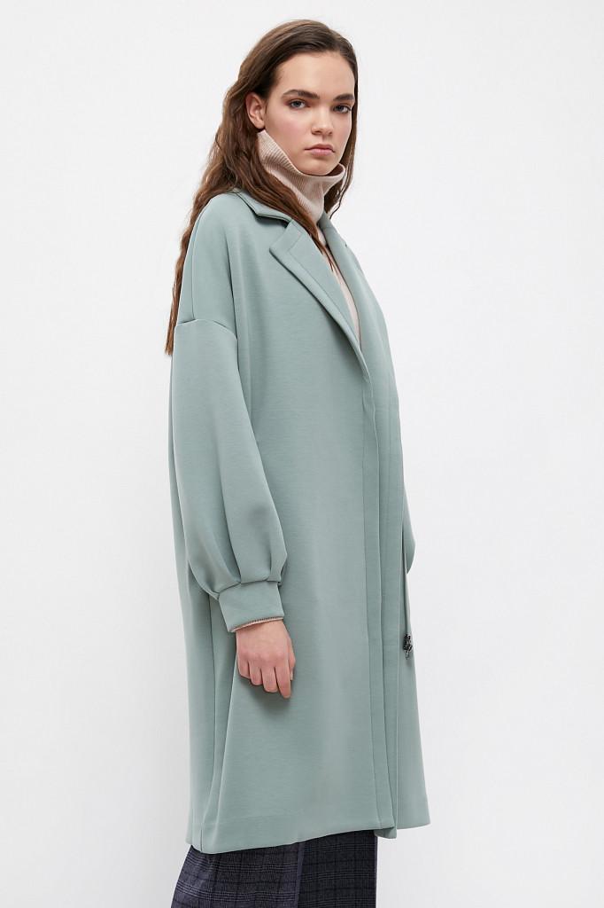 Пальто женское Finn Flare, цвет серо-зеленый, размер 2XL - фото 3