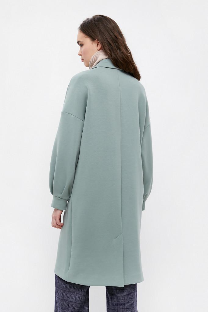 Пальто женское Finn Flare, цвет серо-зеленый, размер 2XL - фото 4