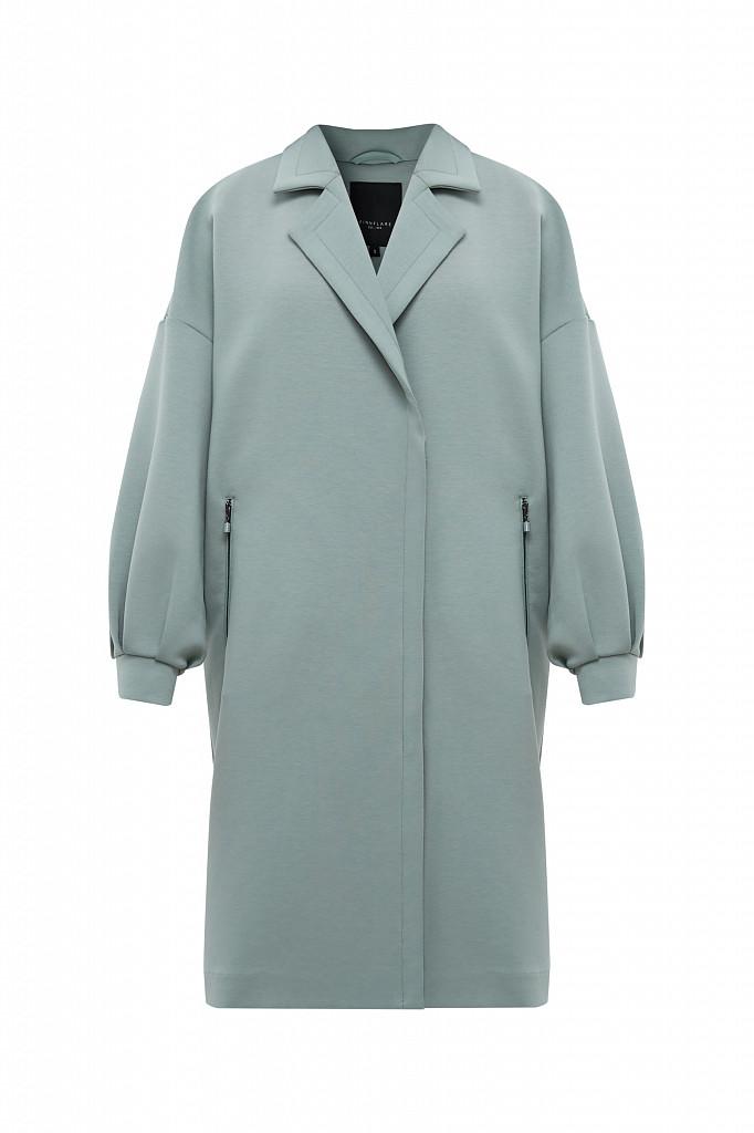 Пальто женское Finn Flare, цвет серо-зеленый, размер 2XL - фото 7
