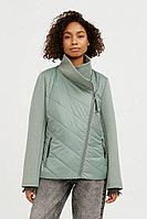 Куртка женская Finn Flare, цвет серо-зеленый, размер S