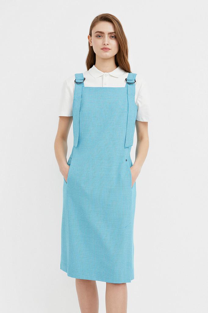 Платье женское Finn Flare, цвет темно-бирюзовый, размер S - фото 2
