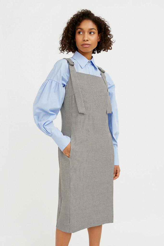 Платье женское Finn Flare, цвет черный, размер L - фото 1