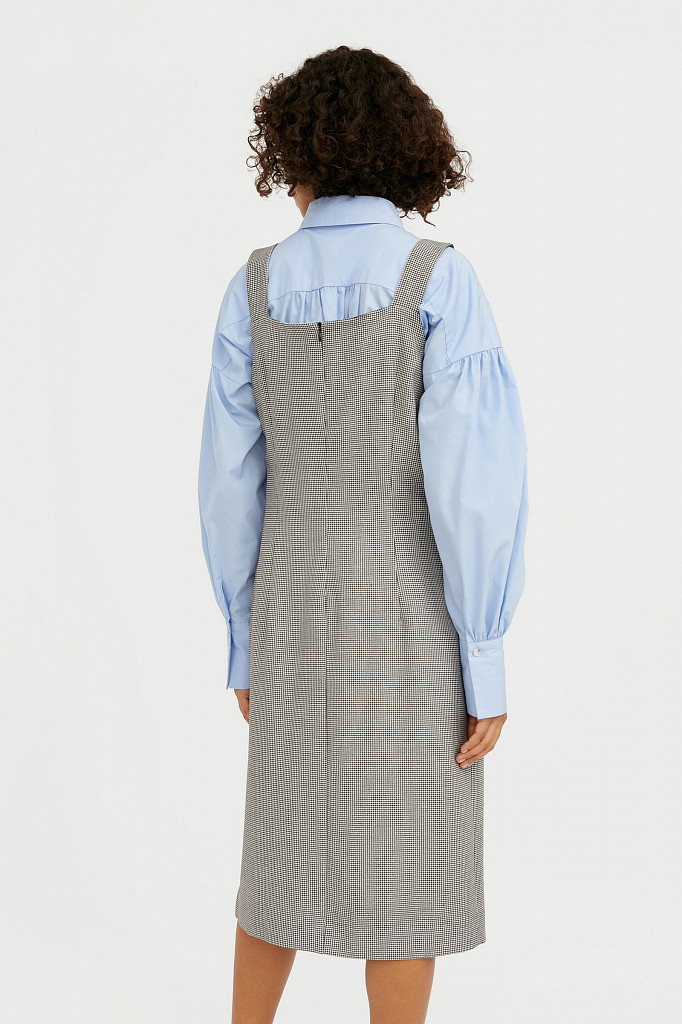 Платье женское Finn Flare, цвет черный, размер L - фото 4