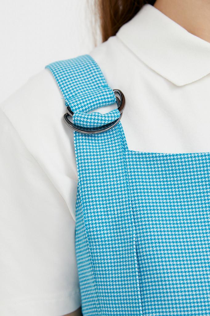 Платье женское Finn Flare, цвет темно-бирюзовый, размер M - фото 5