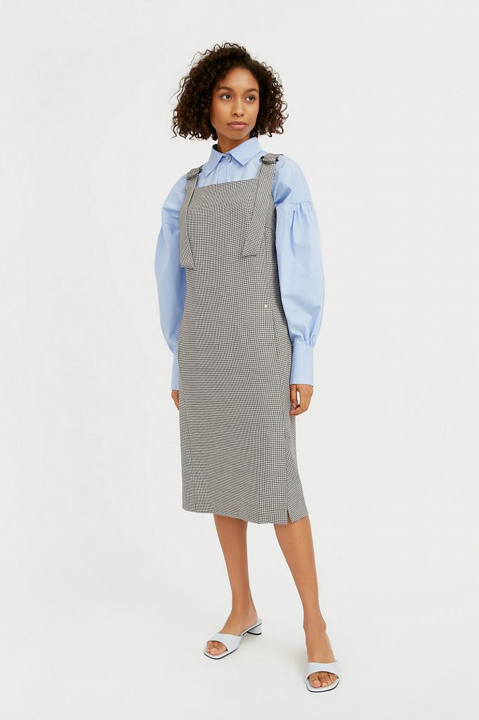 Платье женское Finn Flare, цвет черный, размер XL - фото 2