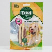Лакомства Triol 'Сытный сэндвич' для собак, утка, 70 г