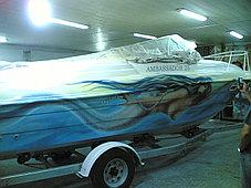 Ремонт ABS пластика, днищ катеров, скутеров, яхт, фото 2