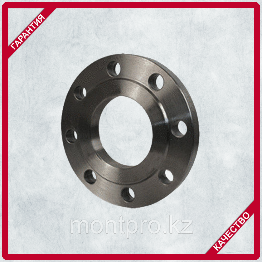 Фланец стальной приварной плоский ГОСТ 12820-80  Ру 16