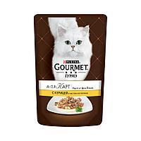 Gourmet А-ля Карт с курицей, пауч 85гр.