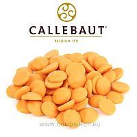 """""""Апельсин"""" цветной апельсиновый шоколад Callebaut 2,5 кг"""