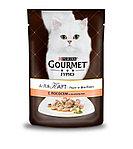Gourmet А-ля Карт с лососем, пауч 85гр.