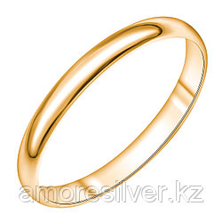 Кольцо Арт-Карат серебро с позолотой, без вставок 14-1003-26-00