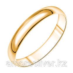 Кольцо Арт-Карат серебро с позолотой, без вставок 14-1004-26-00