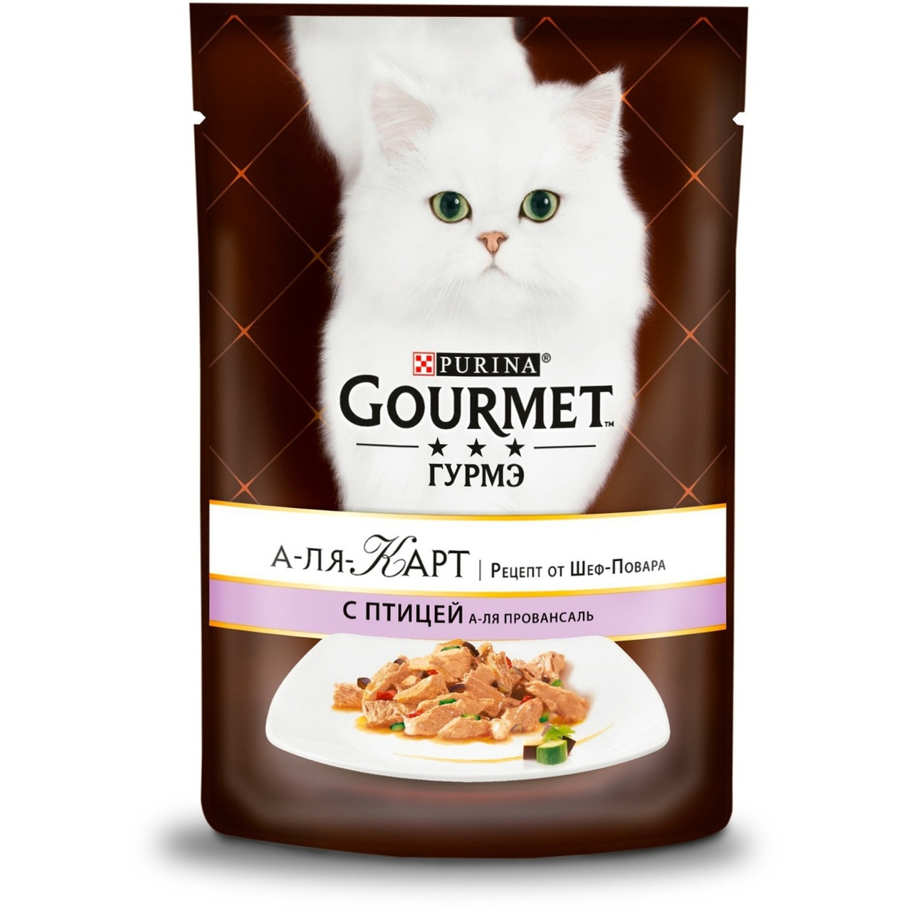 Gourmet А-ля Карт с птицей, пауч 85гр.