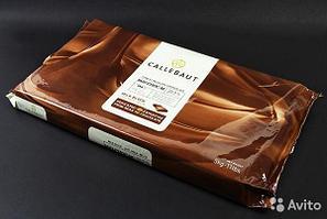 Молочный шоколад без сахара Callebaut в блоках, в упаковке 5 кг