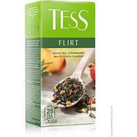 Чай зеленый Tess Flirt, 25 х 1,5 г, в пакетиках