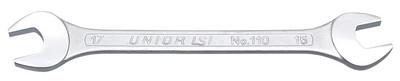 Ключ рожковый (полированные головки) - 110/1 UNIOR