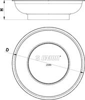 Магнитная тарелка - 2086 UNIOR, фото 2