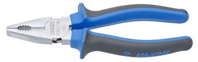 Плоскогубцы комбинированные, рукоятки BI - 406/1BI UNIOR