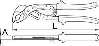 Клещи переставные автоматические HYPO - 442/1HYPO UNIOR, фото 2