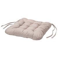 Подушка на стул ХЭЛЛЬВИ бежевый 40x38x5.0 см ИКЕА, IKEA
