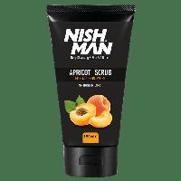 Nishman скраб для лица с абрикосом Apricot Face Scrub 150 мл