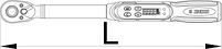 Электронный динамометрический ключ - 266B UNIOR, фото 2
