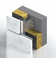 Алюминиевая система для НВФ под натуральный камень (гранит, травертин, мрамор, LimeStone) Hard