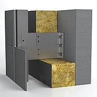 Алюминиевая система для НВФ под фиброцементную панель Hard