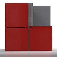 Алюминиевая система для НВФ под алюминиевые и оцинкованные кассеты Hard