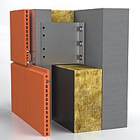 Алюминиевая система для НВФ под терракотовые панели (Creaton, KeraTwin, TOB, ZSR, LOPPO и др.) Hard
