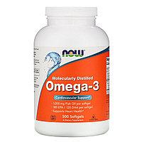 Омега 3 от NOW Foods 600 мг. 500 капс.