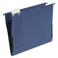 Папка подвесная A4, 230 гр, боковой ограничитель, темно-синяя Hamelin