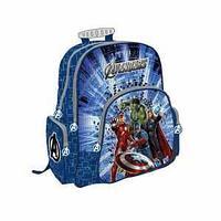 Школьный рюкзак, текстиль, размер 38х36х16 см