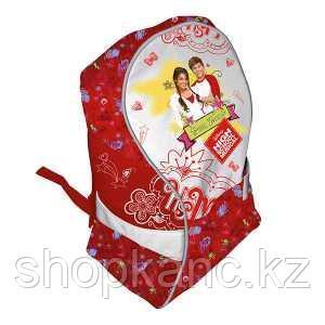 Школьный рюкзак, текстиль,  размер 40х30х16 см