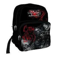 Школьный рюкзак, текстиль,  размер 38х28х16 см