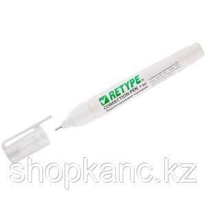 Корректирующий карандаш Retype, 07мл, металлический наконечник