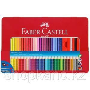Карандаши цветные, GRIP 2001, 48 цветов + 1 чернографитовый, в подар. металли. коробке с окошком.