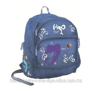 Школьный рюкзак, текстиль,  размер 39х32х17 см