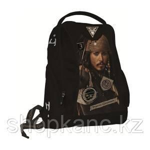 Школьный рюкзак, текстиль,  размер 35 х 30 х 14 см