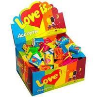 Жевательная резинка Love is…, микс- вкус, 4,2г