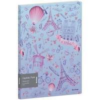 """Папка с 10 вкладышами Berlingo """"Capitals. Paris"""", 17мм, 600мкм, с внутр. карманом, с рисунком"""