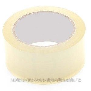 Упаковочный скотч 47 mic х 80 mm х 150 м., прозрачный.