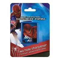 Точилка с двумя отверстиями, 1шт. Упаковка - блистер, европодвес Spider-man