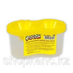 Стакан-непроливайка пластиковый Каляка-Маляка двойной 300 мл 3+