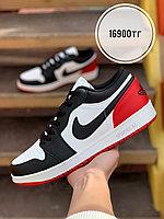 Кеды Nike Jordan низ бел чер крас 108-24, фото 1