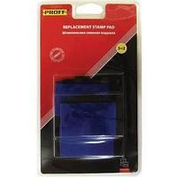 """Штемпельная подушка сменная """"Proff"""" для модели 3217 синяя(7/640-bl)"""