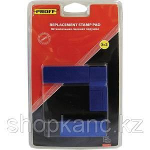 """Штемпельная подушка сменная """"Proff"""" для модели 7817 синяя  (7/7817-bll)."""