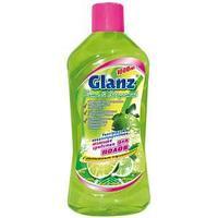 Средство для мытья полов GLANZ, Лайм и Бергамот, 1 л.